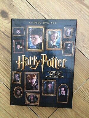 Harry Potter The Complete 8 Film Collection 16 Discs