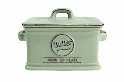 TG Pride of Place Butter Dish In Old Green