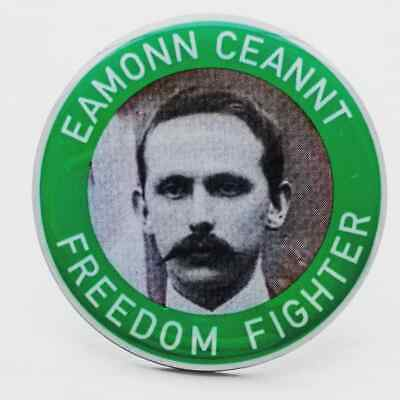 Éamonn Ceannt Freedom Fighter Pin Badge - Irish Republican 1916 Easter Rising
