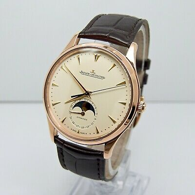 Jaeger-LeCoultre Master Ultra Thin Moon with Box and Papers 2017 Rose Gold