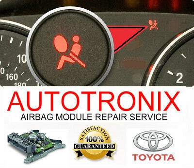 All Toyota Srs Airbag Control Module Reset Service / Restraint Control Repair
