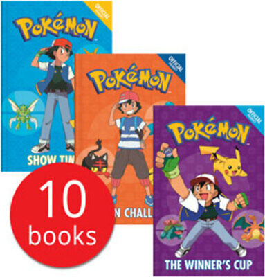 Pokemon Collection - 10 Books