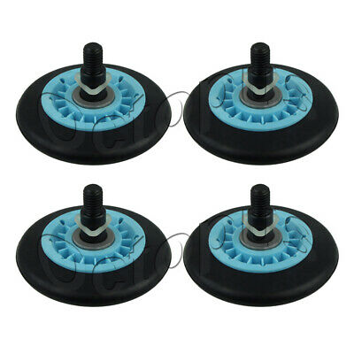 4 Pack Dryer Drum Roller Wheel Fits Samsung DC97-16782A AP5325135 PS4221885
