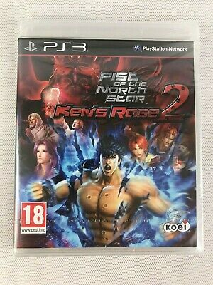 PS3 Fist of the North Star: Ken's Rage 2, Brand New & Factory Sealed, Small Tear