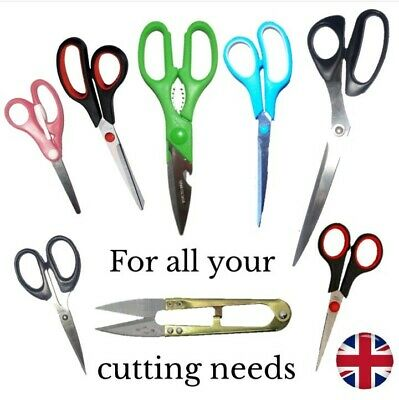 Stainless Steel Craft Scissors Small Thread Cutting Fabric Tailoring Embroidery