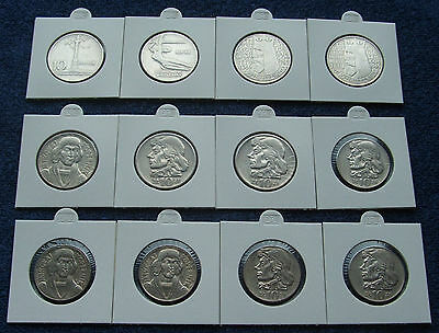 Poland Set Of Coins Prl 10 Zlotych Years 60 !! 12 Pieces !! Super Lot 12 Pcs Kpl