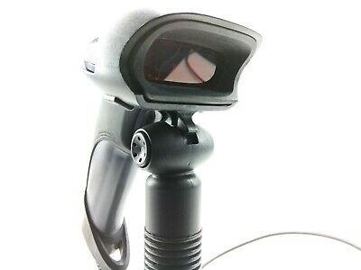 Honeywell Metrologic MS9590 Barcode Scanner and Commercial Auto-Sensing Stand