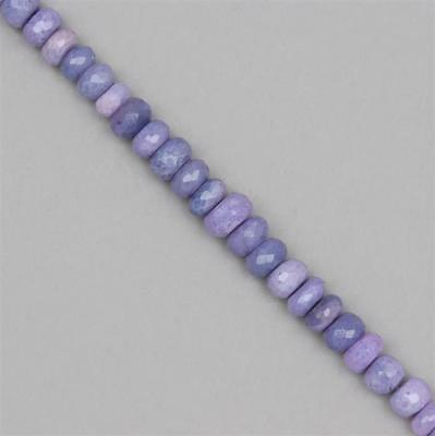 AAA quality natural loose Peru purple opal gemstone beads 1 stand 6x8 mm 13 inc