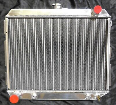 DISCOUNT CHAMPION 2 Row Aluminum Radiator 70-72 Dodge Charger Coronet 22