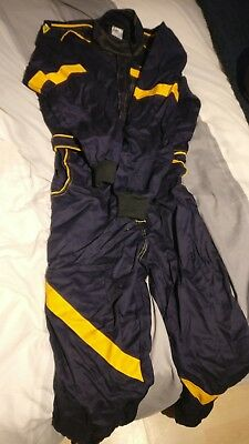 Aws Trackday Race Sprint etc size 46 Proban Overalls Race Suit In Black / Yellow