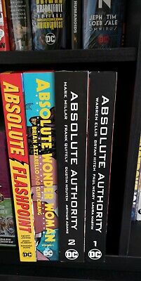 Absolute Editon  comic lot Flashpoint Authority Wonder Woman Hardcover Omnibus