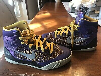 low priced fb994 bf3a9 Kobe 9 Elite Showtime Team Basketball Shoes Size Youth 5.5.