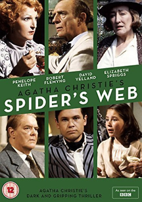Agatha Christie`s Spider`s Web (Uk Import) Dvd New