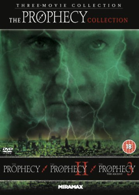 Brittany Murphy, William Prael-Prophecy Trilogy (UK IMPORT) DVD NEW