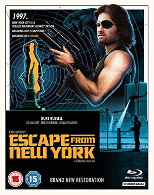 Escape From New York Bd (UK IMPORT) BLU-RAY NEW