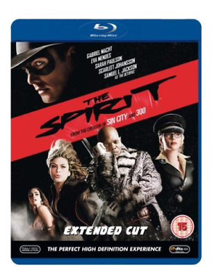 Gabriel Macht, Scarlett Joh...-Spirit (UK IMPORT) Blu-ray NEW
