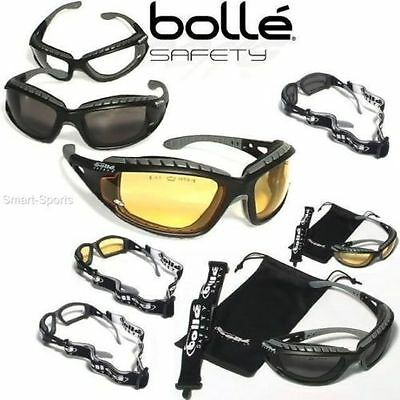 Bolle Tracker II Safety Glasses Airsoft (Various Lenses)