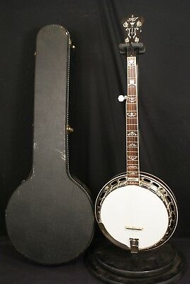 Rich and Taylor JD Crowe 5 string banjo all original MADE IN USA with Hardcase