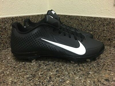 NIKE AIR ZOOM VAPOR ELITE METAL BASEBALL CLEATS BLACK 38553-010 Men Sz 12.5 f41e26c6f