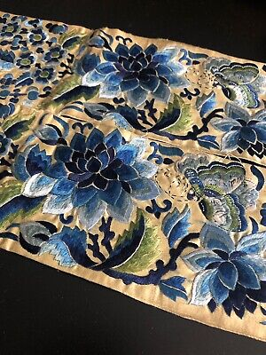 Antique Chinese Embroidered Panels