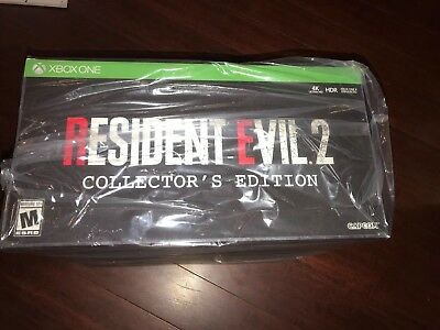 Resident Evil 2 Gamestop Collector's Edition 2019 Microsoft Xbox One No Console