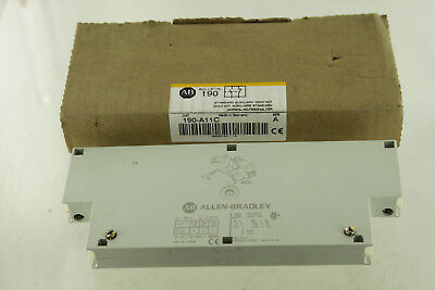 Allen Bradley Ab 190-A11C Auxiliary Contact New