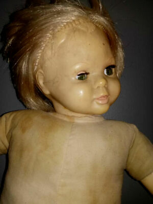 Active 1970s Doll - Haunted Antique Used in Satanic Rituals - Private Collection