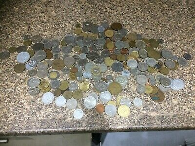 old coins job lot just over 1 kg weight