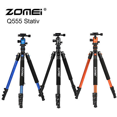 ZOMEI Portable Professional Aluminium Tripod&Ball Head for DSLR Camera Canon 555