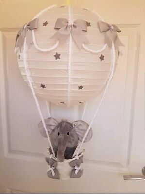 light shade grey silver with a elephant looks stunning nursery baby  x
