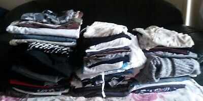 LADIES CLOTHES JOB LOT sizes 8/10/12/14 BOX OF MIXED ITEMS BOOT SALE RE-SELL