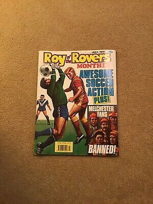 Roy Of The Rovers Monthly July 1991