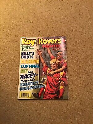Roy Of The Rovers Monthly June 1991