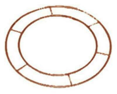 "Wreath Metal Frame Make Your Own 8""Flat Wire Ring Christmas Floristry Craft Door"