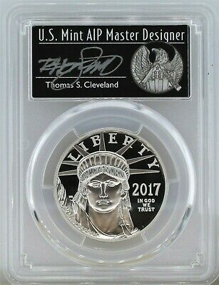 2017 W $100 Proof Platinum Eagle 20th Anniv. PCGS PR70 DCAM First Day of Issue