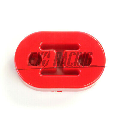 1 x Exoracing Polyurethane Exhaust  hanger rubber heavy duty universal RED
