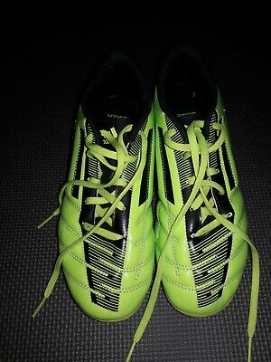 new arrival dec0d 38927 ADIDAS TAQUEIRO FG J Youth Molded Soccer Cleats Green Black size 4.5 NWB