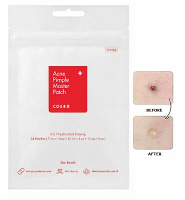 COSRX Acne Pimple Master Patch - 24 patches Spot Stickers Face Treatment Sheets