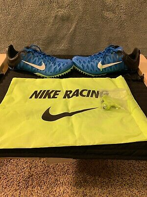 reputable site b49cf 9e092 Nike Zoom Maxcat 4 Sprint Track Field Spikes Blue 549150-413 Size 9.5