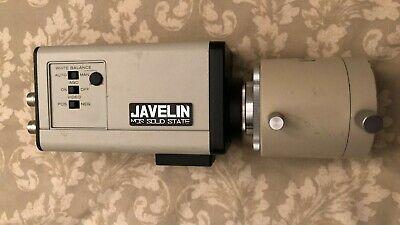 Olympus MTV-3 Microscope Camera Adapter C-Mount + Javelin Chromachip II CCD