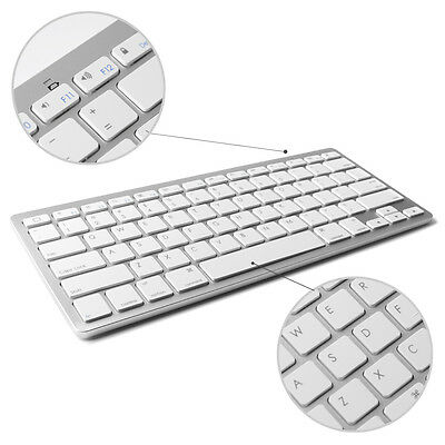 Universal Wireless Bluetooth Keyboard For iPad IOS Android Windows For Work