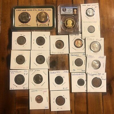 USA Coins & Token Proof Old World PCGS Collection Lot Numismatic Medieval Rare?