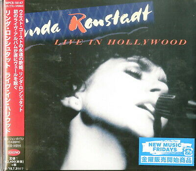 Linda Ronstadt-Live In Hollywood-Japan Cd F30