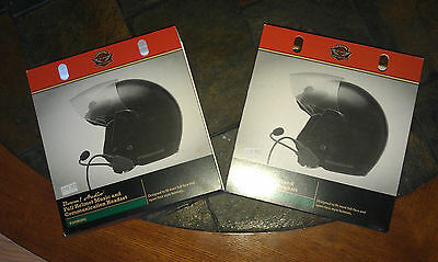 Harley Davidson Ultra Premium Stereo Headsets ( 2 Set ) New !!!!