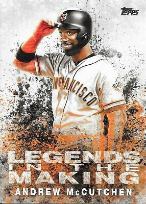 2018 Topps Update Legends in the Making Insert Andrew McCutchen #20 - Phillies
