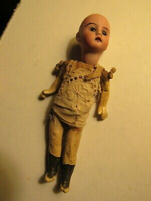 Antique Jointed Doll with Bisque Head GKN(?)
