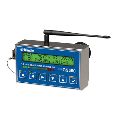 Trimble GS550-CSA Wireless Display / Receiver Stainless Steel Case