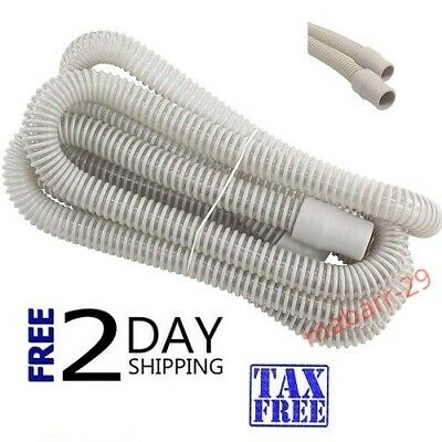"""10 Foot 120"""" CPAP BIPAP FLEXIBLE AIR TUBING HOSE TUBE-10-Ft- New Quality Sealed"""