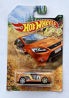 Hot Wheels Rally Ford Focus RS Escort Turbo AWD ST 500 Ecoboost Forza Art Oem