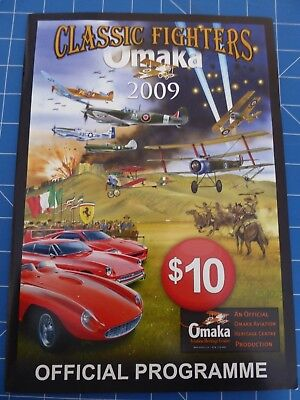 Official Programme - Classic Fighters Airshow -  Omaka New Zealand 2009